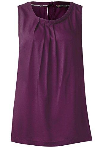 Street One Damen Einfarbiges Blusentop Flavia sunny violet