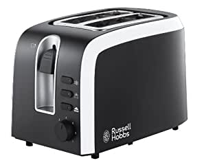Russell Hobbs 1853556 Mono Grille-Pain 2 Fentes Design Rétro Inox 1100 W