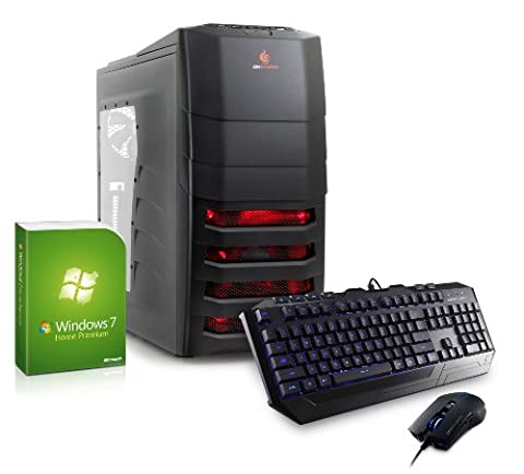 CSL Speed H4808 (Core i7) - Intel Core i7-4770K 4x 3500 MHz, 16 GB RAM, GeForce GTX 780 3 GB GDDR5, 120 GB SSD, DVD-RW, CardReader, Gigabit LAN, USB