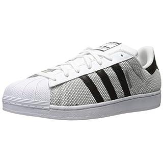 adidas Performance Men's Superstar Circular Knit Sneaker, White/Black/White, 8.5 M US
