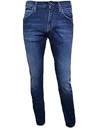 Armani Jeans Men's J45 Slim Fit Blue Jeans