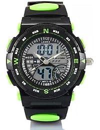 Fenkoo Hombre / Mujer / Unisex Reloj Deportivo Digital Plastic Banda Negro Marca-