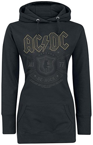 AC/DC Let There Be Rock Felpa donna nero XL