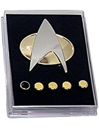 Star Trek The Next Generation Communicator Abzeichen Wappen Rank Pins Replik Cosplay