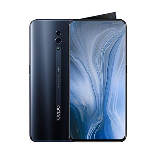 OPPO Reno 6GB RAM and 256GB Storage 6.4-Inch Dual SIM Smartphone - Black