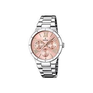 Festina F16716/3 – Reloj de cuarzo para mujer, con correa de acero