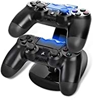 Dual Controller Holder Charger 2 USB Handle Dock Station Stand Charger for PS4 Controller