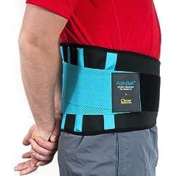 Rückenbandage Rückengurt - Lindert Schmerzen und Beugt Verletzungen Vor, Medizintechnik, AgileBak von Clever Yellow