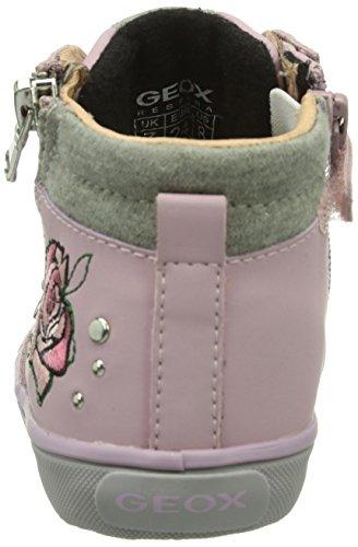 Geox B KIWI GIRL Baby Mädchen Lauflernschuhe Pink (Pinkc8005)