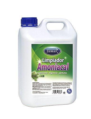 Tamar 710025000 Limpiador Amoniacal Aroma a Pino, 5 Litros