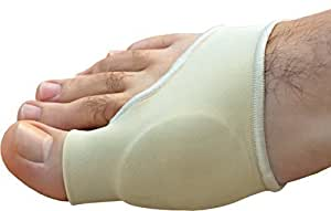 Medipaq® Bande de protection avec gel anti oignons pour les pieds - Soulaage les oignons, ampoules, arthrose - Taille 36-42 femme