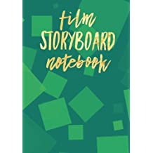 """Film Storyboard Notebook: Green 7""""x10"""" Filmmaking Handbook Text Book Journal 
