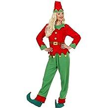 Vari Costume Elfo Donna Aiutante Babbo Natale PS 25836 6196ff4bd39a