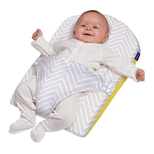 Clevamama ClevaFoam Cojín Anticólicos Bebés - Alivia Reflujos, Cólicos y Congestión Nasal