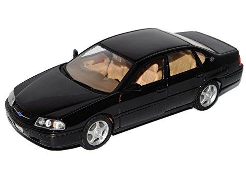 chevrolet-impala-ss-1w-limousine-schwarz-1999-2005-8-generation-1-24-welly-modell-auto