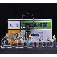 BG-YUFI YF Schröpfen Glas, Haushalt B Typ 6 Dosen Vakuum Schröpfen Haushalt Luftpumpen Schröpfen Gesetzt - preisvergleich bei billige-tabletten.eu