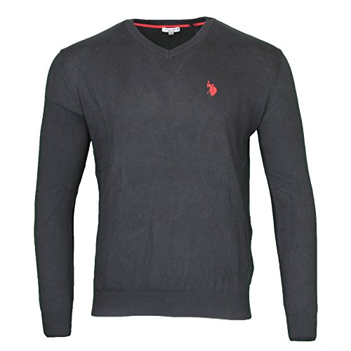 us-polo-assn-v-neck-sweater-herren-pullover-sweatshirt-schwarz-173-42964-51894-199-grossenauswahlm
