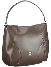 ck Calvin Klein Bold KRW004 PMT00 - Bolsa al hombro de cuero para mujer