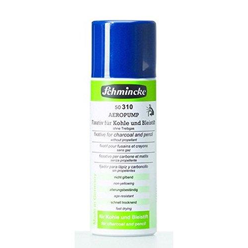 Schmincke 300ml Hilfsmittel Fixativ f.Kohle+Bleistift AEROPUMP Pastell 50 310 040