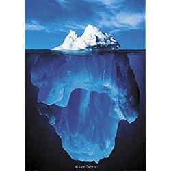 Carteles de esos que te inspiran con tan solo mirarlos. Este iceberg es un buen ejemplo..