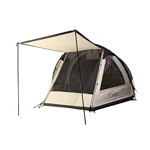 Xtend Adventure Sunrise, Familienzelt, 4 Personen Camping-Zelt, Aluminium-Gestänge