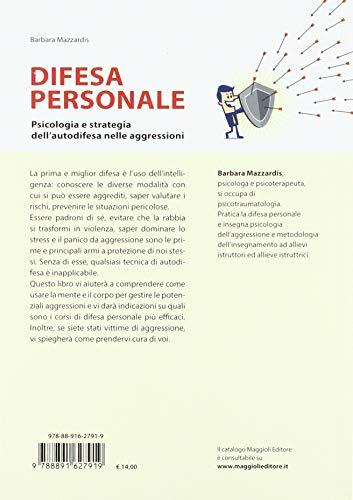 Zoom IMG-1 difesa personale psicologia e strategia