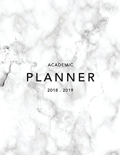Academic Planner 2018-19: Marble + Gold Weekly View Student Planner | To Do Lists, Goal-Setting, Class Schedules + More (August 2018 - July 2019) (2018-2019 Student Planners, Band 7)