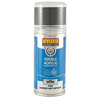 Hycote XDFD403 Ford Graphite Grey Metallic Touch Up Aerosol, 150ml