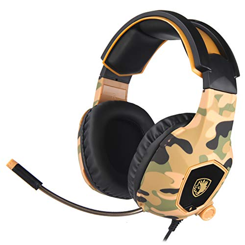 JHDUID SA-818 Gaming Headset Computer mit Mikrofon Sound Wrap Ln-Ear PC Stereo #1 -
