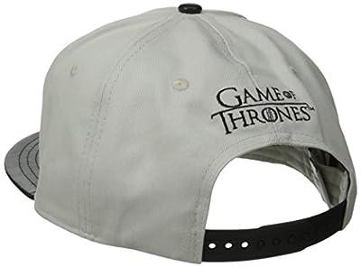 Game Of Thrones Men's Targaryen Metallic Patch Flat Brim Snap Back