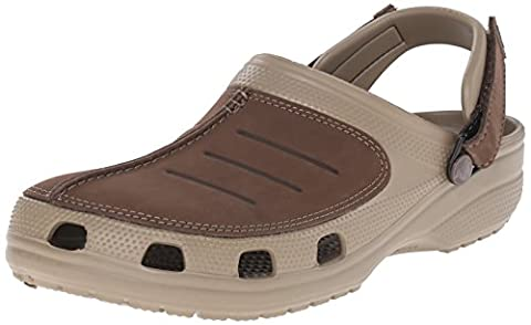 crocs Yukon Mesa Clog, Herren Clogs, Beige (Khaki/Espresso 23G), 50/51 EU (14 Herren UK)