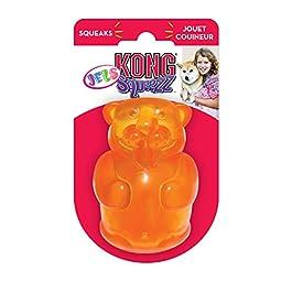 Kong Squeezz Jels, di grandi dimensioni, 10 x 10 x 8 cm, Colori assortiti, 1 pezzo