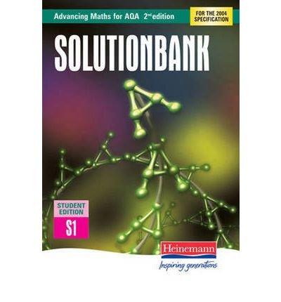 Advancing Maths for AQA Solutionbank Statistics 1 (S1) Student