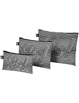 TYPE Go Go Go Zip Pockets © Sagmeister & Walsh: Mini Zip-Etui 13 x 23 cm, Midi Zip-Etui 20 x 27 cm, Maxi Zip-Etui...