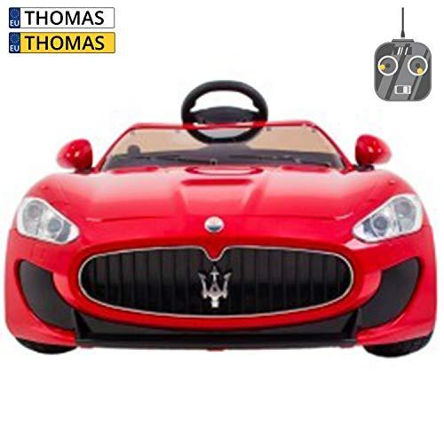 Maserati Voiture pour Enfant Rouge