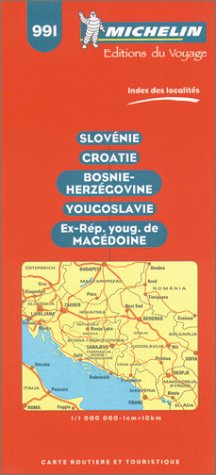 Yugoslavia (Michelin Maps)