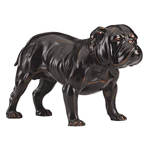 Design Toscano Lord Byrons Bulldogge, Figur -