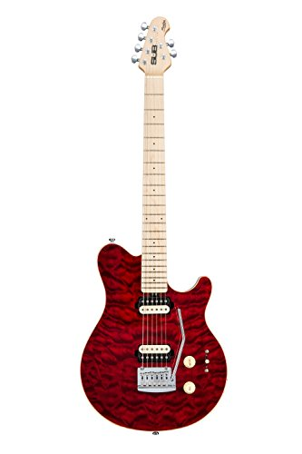 STERLING AX3 GUITARRA TRD/M  TRANSLUCENT ROSSO