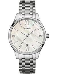 Bulova Ladies Diamond - Reloj de pulsera