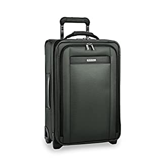 Briggs & Riley Transcend Tall Carry-On Expandable Upright, 56cm, 52.1 litres, Rainforest Equipaje de mano, 56 cm, liters, Verde (Rainforest)