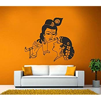 Buy Wallmantra Radha Krishna Wall Sticker Online At Low Prices In