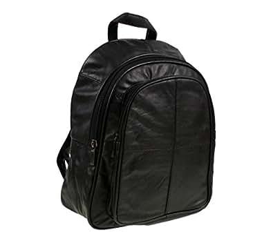 Italian Soft Leather Ladies Womens Backpack Rucksack Handbag 8491