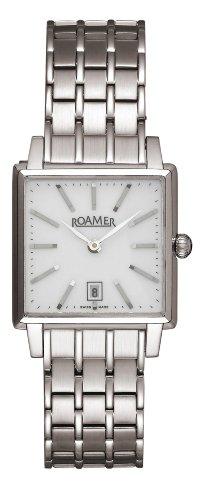 ROAMER OF SWITZERLAND 534 280 41 25 10 - Reloj de Pulsera Mujer, Acero Inoxidable, Color Plata