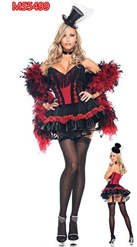Gorgeous Aladdin Halloween-Tanz Tanzkleidung neue Pailletten gesäumt indischen Tanzkleid Halloween-Kostüme , #1 (Teufel Pailletten Kostüm)