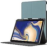 Forefront Cases Samsung Galaxy Tab S4 10.5 Hülle | Integrierter S-PEN Stifthalter & Stylusschutz | Magnetische Samsung Galaxy Tab S4 10.5 Zoll Tablet-PC SM-T830/T835 Cover | Automatische Schlaf-Wach-Funktion | Dünn Leicht | Himmelblau + Stylus