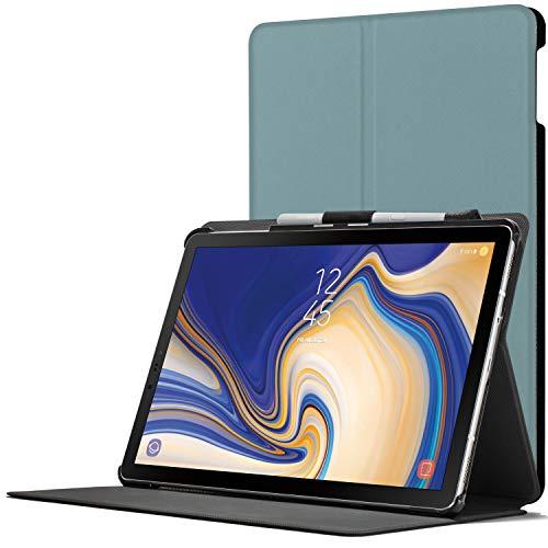 Forefront Cases Smart Hülle kompatibel für Samsung Galaxy Tab S4 10.5 | S-PEN Stifthalter | Magnetische Cover Galaxy Tab S4 10.5 Zoll Tablet-PC SM-T830/T835 | Auto Schlaf Wach Dünn Leicht | Himmelblau