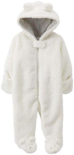 Carter's Baby Mädchen (0-24 Monate) Schneeanzug, Elfenbein, 1034162unisex-baby