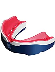 Makura lapillis Max protector bucal, color  - Dark Blue / White / Red, tamaño Adulto