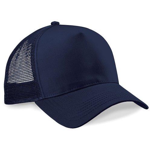 Casquette Snapback Trucker Fashion Bleu Marine