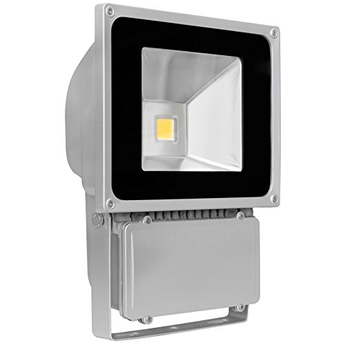 Ledino Ledisis High Power LED-Flutlichtstrahler, 80 W kalt-/warmweiß Warmweiß